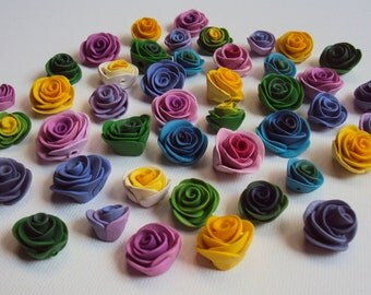 Make It Yours Rose Beads (Lot of 10) for Jewelry and Accessories
