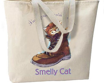 Proud Owner Of A Smelly Cat New Oversize Tote Bag, All Purpose