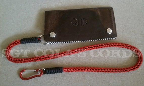 items similar to paracord wallet key lanyard type i and