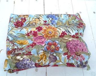 Summer Microwavable Therapy Rice Bag Bird and Floral Gardener's Relief Hot or Cold Pack