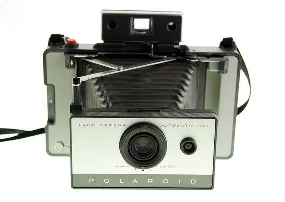 Vintage Polaroid Camera 103