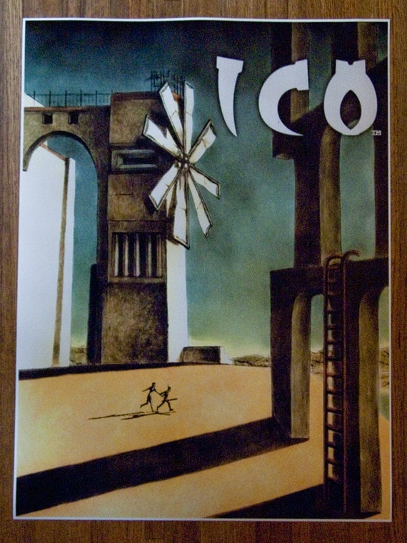 """ICO poster 18 x 24"""" Video Game Poster"""