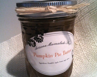 Pumpkin PIE Butter/ Fall-Thanksgiving Gift  /Gluten-Free