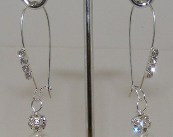 Traditional and classic Evelyn Earrings