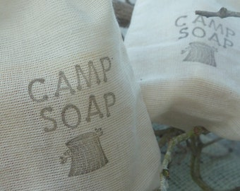 CAMP SOAP Perfectly Portioned for Any Outdoor Trip or Any Kind of Travel... Light & Clean Scents WIth Lots of Lather