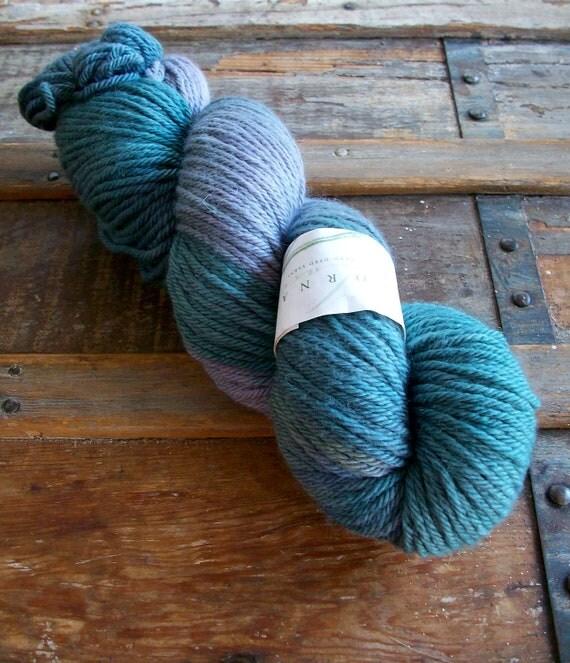 Lorna's Laces Green Line Worsted Yarn, Organic Merino Wool, Hand-Dyed