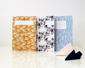 Set of 3 notebooks - Lot de 3 cahiers - SEASONPAPER