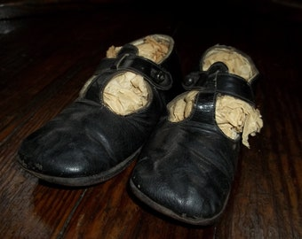 Vintage Baby Patent Leather Shoes