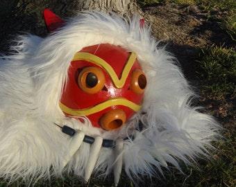 Princess Mononoke Pelt and Mask