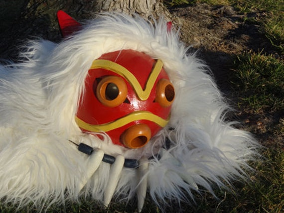 Princess Mononoke Pelt and Mask