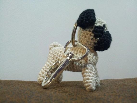 Keychain Pug