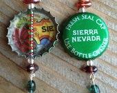 Sierra Nevada Celebration Bottle Cap Earrings - Ready for the Holidays