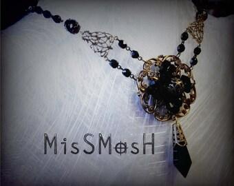 Miss Tudoriann  Tudor Gothic Necklace