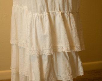 White, Full Victorian Pantaloons