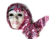 Venetian Mask , handmade, ceramic.