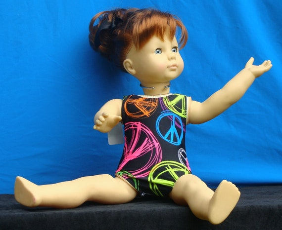 "Gymnastics leotard for 18"" Dolls"