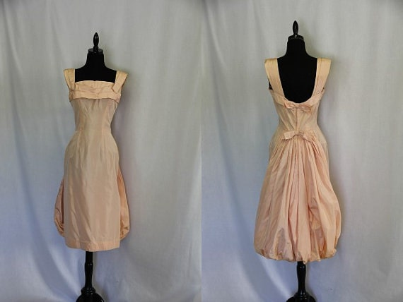 50s Dress Vintage 1950s Sleeveless Party Frock