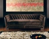 "Abstract Painting, Abstract Wall art, 40"" art, Original Abstract Painting, Ready To Hang, Made to Order, Wall Hanging"