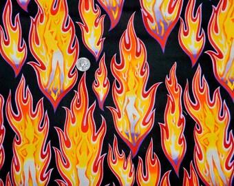 FQ VHTF OOP 2003 Fire Girl Pinups by Alexander Henry - Fat Quarter