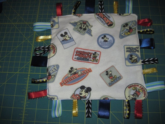 Tag Blanket Mickey Mouse