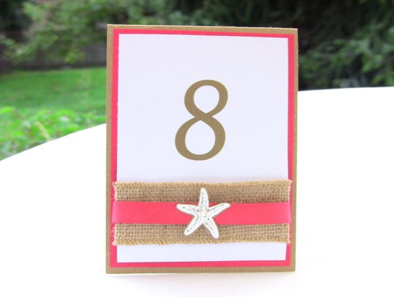 7 Table Numbers and 40 Place Cards, Custom Listing for Casey, TEAL