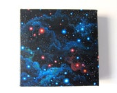 Imaginary Outer Space Scene Painting