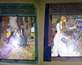 c. 1904 - The Children's Shakespeare & The Children's King Arthur - FREE SHIPPING