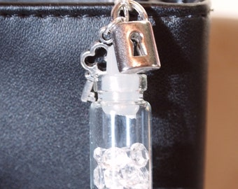 Jewels, Lock and Key AUX charm
