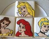 Disney Princess Sugar Cookies- Set of 12