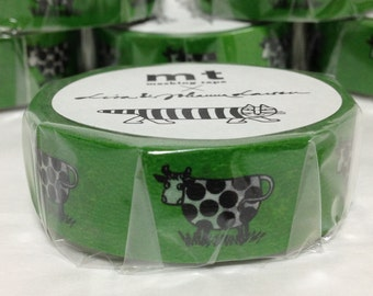 Japanese Washi Tape Masking Tape Deco Tape Paper Tape Cow