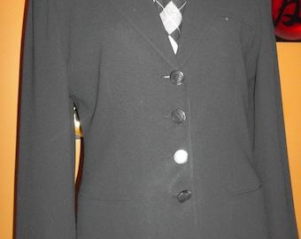 Vintage Jones New York Black Blazer