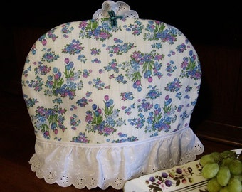 Frilly Floral Dome Tea Cozy
