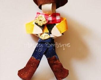 Cowboy Woody Hair Clip
