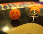 Four Star Dragonball Stud Earrings