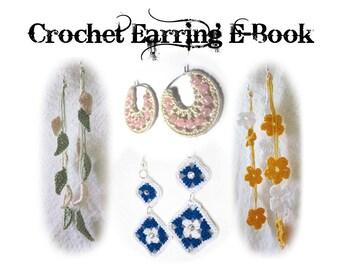 Crochet Earring Pattern eBook