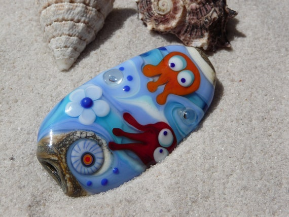 Underwater - bead Bikini Bottom by Ulrike Dietrich
