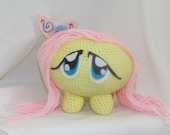 X-Large Fluttershy Chubby Plushie