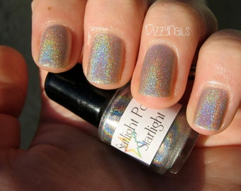 Starlight Holographic Top Coat Custom Nail Polish Holo 5mL