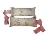 Catnip Cat Toys, Cat Teasers - Catnip HELLO KITTY Body Pillow & Bow Teaser