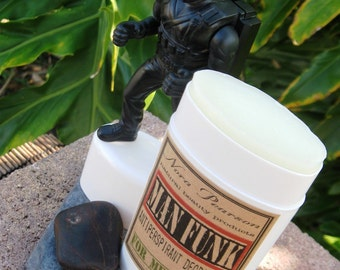 Man Funk All Natural Deodorant 2oz -Green Tea & Bamboo Blend