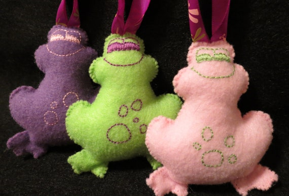 Baby Girl Frog Rattle Stroller Carseat Toys Set