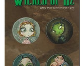 Wicked of Oz  Pins