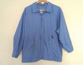 80s vintage blue medium men members only jacket size 42