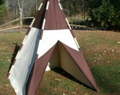 Children child teepee play tent solid color of your choice made to order