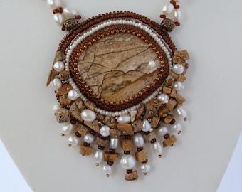 """Pendant """"Pearl of the Desert"""""""