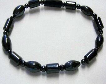 Magnetic Healing Bracelet, Magnetic Hematite Bracelet 2079