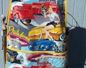 Hot Rods and Glamour Carhops Cobbler Apron