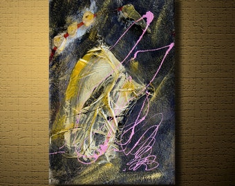 Art For Charity - Abstract Expressions Modern Art Paintings - Free Style