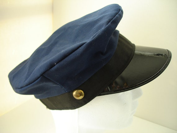 Vintage Childrens Mail Carrier/Union Soldier Role Play Hat