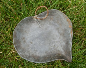 Sale  McClelland Barclay Bronze Plated Leaf Plate